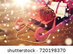 holidays  christmas  presents ... | Shutterstock . vector #720198370