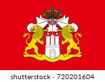 flag of hamburg is the second... | Shutterstock .eps vector #720201604