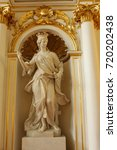 Small photo of SAINT PETERSBURG, RUSSIA. the sculpture of Catherine the great, Catherine 2. A statue of a girl, woman, Hermitage