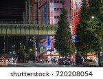 tokyo  japan   september 21st ... | Shutterstock . vector #720208054