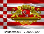 flag of the free hanseatic city ... | Shutterstock . vector #720208120