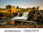 the falls that give their name... | Shutterstock . vector #720217279