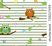 cute childish seamless tiling... | Shutterstock . vector #720217459