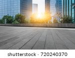 modern building and empty... | Shutterstock . vector #720240370