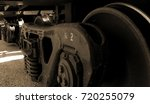 boxcar wheels | Shutterstock . vector #720255079