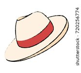 male hat summer icon | Shutterstock .eps vector #720256774