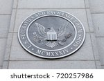 Small photo of WASHINGTON, DC - NOVEMBER 26: Emblem at the U.S. Securities and Exchange Commission in Washington, DC on November 26, 2016.