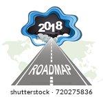 roadmap timeline infographic ...   Shutterstock .eps vector #720275836