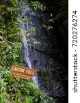Small photo of Laban Rata, kota Kinabalu, Sabah, Malaysia - 15th January 2015 : Carson Fall in a waterfall can be seen during the early climb from Timpohon Gate to the summit