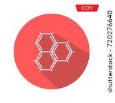 biochemistry icon. flat design. ... | Shutterstock .eps vector #720276640