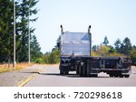 professional american big rig... | Shutterstock . vector #720298618