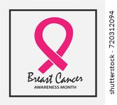 breast cancer awareness month... | Shutterstock .eps vector #720312094