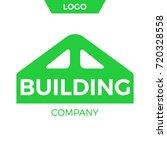 building company logo design.   ... | Shutterstock .eps vector #720328558