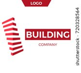building company logo design.   ... | Shutterstock .eps vector #720328564