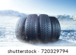 Winter Tire On Ice