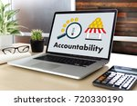 accountability savings account... | Shutterstock . vector #720330190