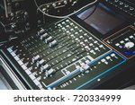 sound mixer control for live...   Shutterstock . vector #720334999