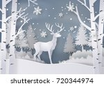 illustration of winter season... | Shutterstock .eps vector #720344974