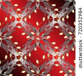 abstract wallpaper  wrapping... | Shutterstock .eps vector #720352984