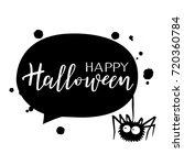 happy halloween vector... | Shutterstock .eps vector #720360784