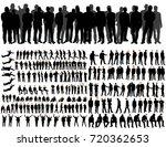 isolated  collegiate... | Shutterstock . vector #720362653
