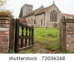 Old English Church Through A...