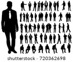 isolated  a collection of... | Shutterstock . vector #720362698