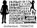 isolated  a collection of...   Shutterstock . vector #720362710
