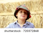portrait of a child in...   Shutterstock . vector #720372868