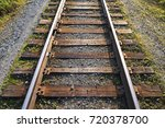 Old Railway Wooden Sleepers.