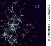 futuristic design element.... | Shutterstock .eps vector #720382033