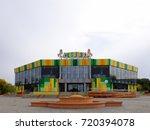 omsk  russia   september 22 ...   Shutterstock . vector #720394078