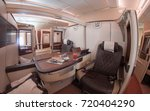 image of suite class cabin on... | Shutterstock . vector #720404290