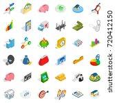 feedback icons set. isometric...   Shutterstock .eps vector #720412150