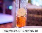 ice lemon tea.   Shutterstock . vector #720420910