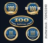 anniversary badge   Shutterstock .eps vector #720423340