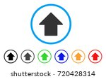 arrow up rounded icon. style is ... | Shutterstock .eps vector #720428314