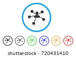 user relations rounded icon.... | Shutterstock .eps vector #720431410