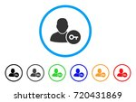 user login rounded icon. style... | Shutterstock .eps vector #720431869