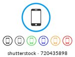 smartphone rounded icon. style... | Shutterstock .eps vector #720435898