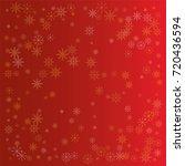 christmas snow powder...   Shutterstock .eps vector #720436594