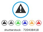 warning rounded icon. style is...
