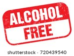alcohol free  | Shutterstock .eps vector #720439540