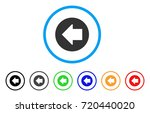 previous arrow rounded icon.... | Shutterstock .eps vector #720440020