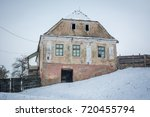 the abandoned house | Shutterstock . vector #720455794
