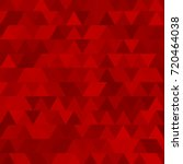 triangle mosaic background... | Shutterstock .eps vector #720464038