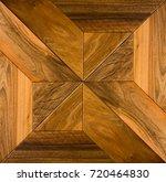 wooden parquet. flooring. | Shutterstock . vector #720464830
