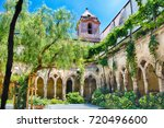 The Scenic Cloister Of San...