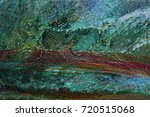 texture of oil paint | Shutterstock . vector #720515068