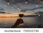 Red Wine Under Hanging Deck...